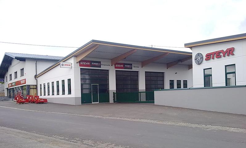 Firmenhalle Binder